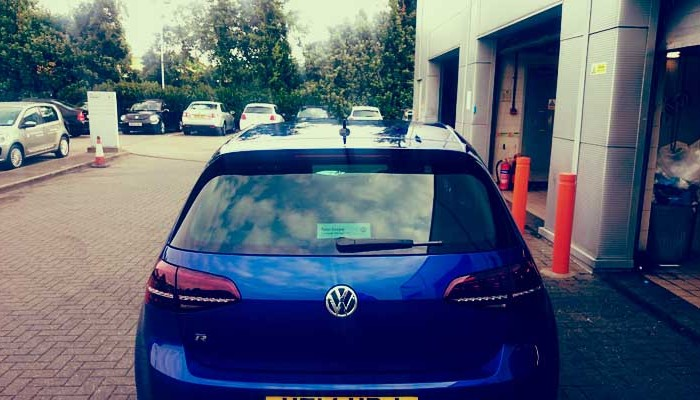 VW Golf 2014 R-type 2
