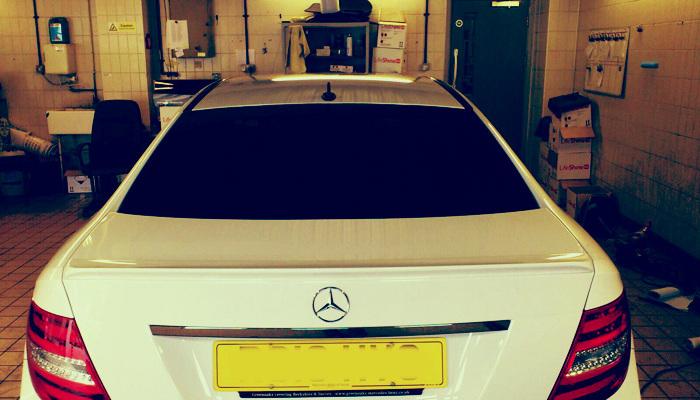 Mercedes C-Class Coupe 2